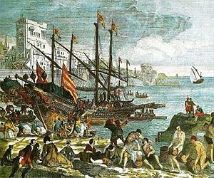 Столетняя война. Битва при Ла-Рошели (1372 г.)