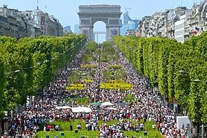 Рост населения Франции