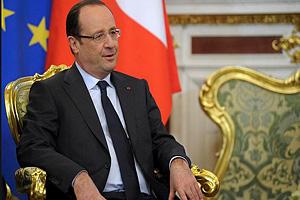 Президент Франции в 2012-2017 г.г. - Ф.Олланд