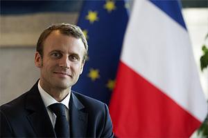 Президент Франции с 2017 г. - Э.Макрон