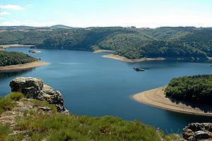 Водохранилище Гранваль (Овернь, Франция)