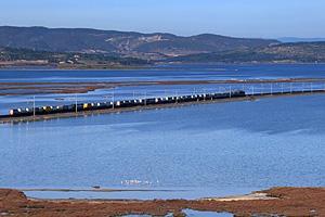 Прибрежный пруд Айроль (Франция)