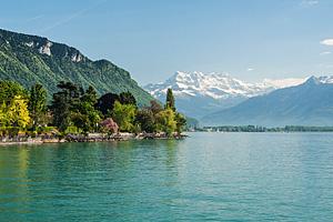 Женевское озеро (Франция - Щвейцария)