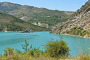 Озеро Кастийон  (Альпы Верхнего Прованса)