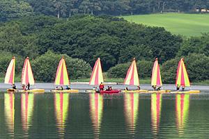 Активный отдых на озере О Дюк (Бретань)