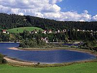 Озеро Аббей (Франш-Конте, Юра)