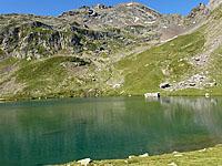 Озеро Англа (Аквитания, Атлантические Пиренеи)