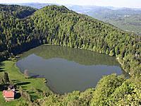 Озеро Антр (Франш-Конте, Юра)