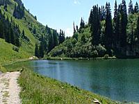 Озеро Арвуэн (Рона-Альпы, Верхняя Савойя)