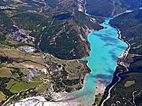 Озеро Бэ д'Англь (Прованс-Альпы-Лазурный берег, Альпы Верхнего Прованса)