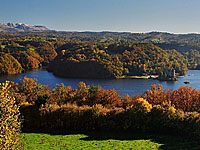Водохранилище Бор-ле-Оргю (Лимузен, Коррез)
