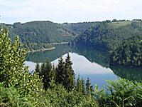 Водохранилище д'Аншане (Овернь, Канталь)