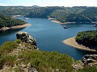 Водохранилище Гранваль (Овернь, Канталь)