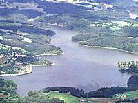Водохранилище ла Валетт (Лимузен, Коррез)