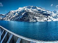 Водохранилище Розеланд (Рона-Альпы, Савойя)