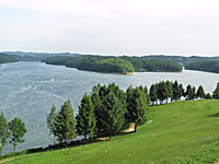 Водохранилище Сент-Этьен-Канталес (Овернь, Канталь)
