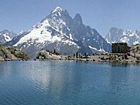 Озеро Блан (Рона-Альпы, Верхняя Савойя)
