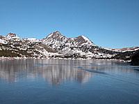 Озеро Буйуз (Лангедок-Руссильон, Восточные Пиренеи)
