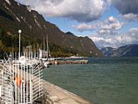 Озеро Бурже (Рона-Альпы, Савойя)