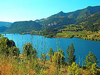 Озеро Карамани (Лангедок-Руссильон, Восточные Пиренеи)