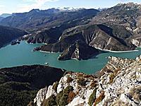 Озеро Кастийон (Прованс-Альпы-Лазурный берег, Альпы Верхнего Прованса)