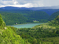 Озеро Шамбли (Франш-Конте, Юра)