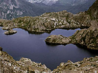 Озеро Корну (Рона-Альпы, Верхняя Савойя)