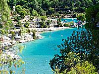 Озеро Эспаррон (Прованс-Альпы-Лазурный берег, Альпы Верхнего Прованса - Вар)