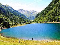 Озеро Фабреж (Аквитания, Атлантические Пиренеи)