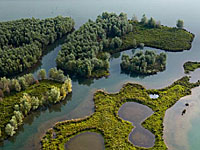 Озеро Жумьеж (Верхняя Нормандия, Приморская Сена)