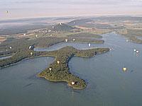 Озеро Мадин (Лотарингия, Мёрт-э-Мозель - Мёз)
