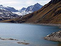 Озеро Мон-Сени (Рона-Альпы, Савойя)