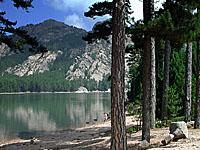 Озеро Ортоло (Южная Корсика)