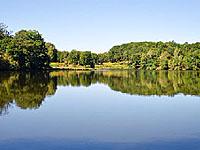 Озеро Пон-а-л'Аж (Лимузен, Верхняя Вьенна)