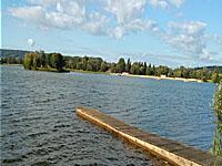 Озеро Пон-л'Эвек (Нижняя Нормандия, Кальвадос)