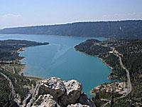 Озеро Сент-Круа (Прованс-Альпы-Лазурный берег, Альпы Верхнего Прованса - Вар)