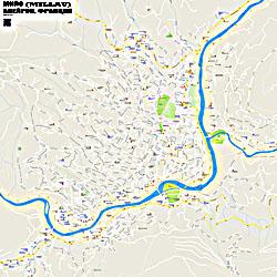 Город Мийо (Millau) на карте