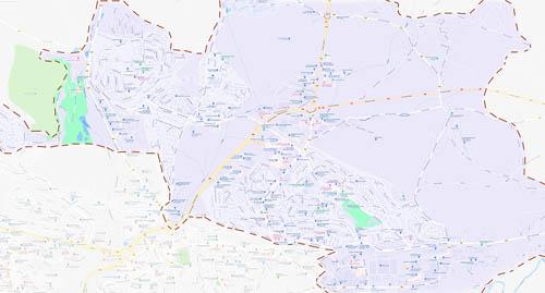 Город Оне-ле-Шато (Onet-le-Chateau) на карте