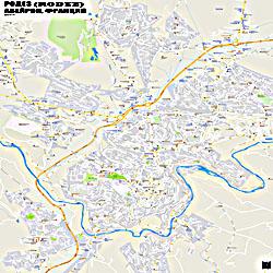 Город Родез (Rodez) на карте