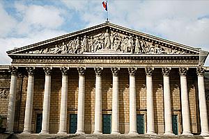 Здание Национального собрания в Париже
