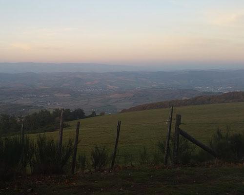 Гора Пёшь де Паль (Puech del Pal) в департаменте Авейрон (Окситания)