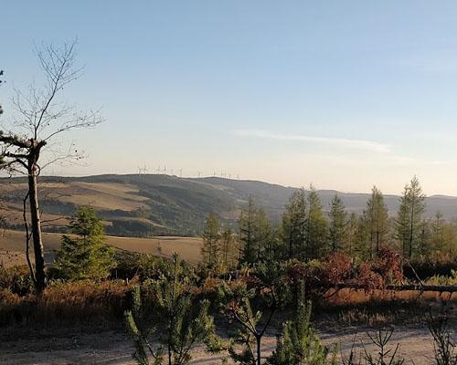 Гора Мон Сень (Mont Seigne) в департаменте Авейрон (Окситания)