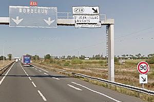 Дорожная разметка и разметка во Франции