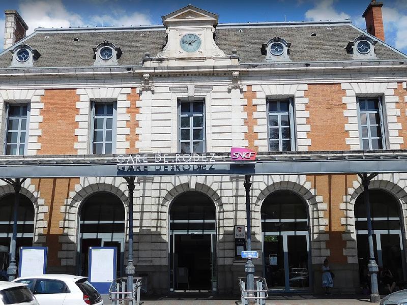 Железнодорожная станция в Родезе (Gare de Rodez)