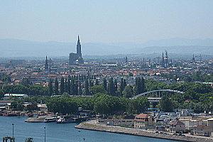 Климат восточных низменностей Франции