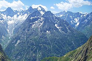 Климат горных районов Франции