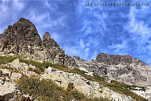Гора Монте-Cинто - высшая точка острова Корсика