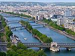 Река Сена (Seine) - самая известная река Франции