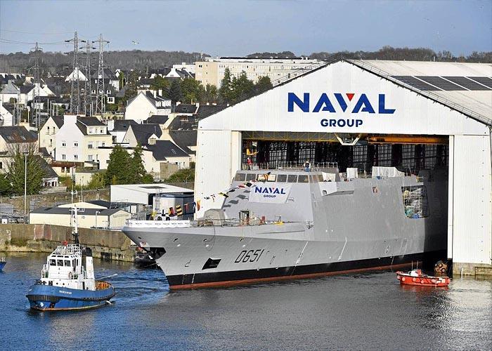 Судостроение Франции: верфь Naval Group