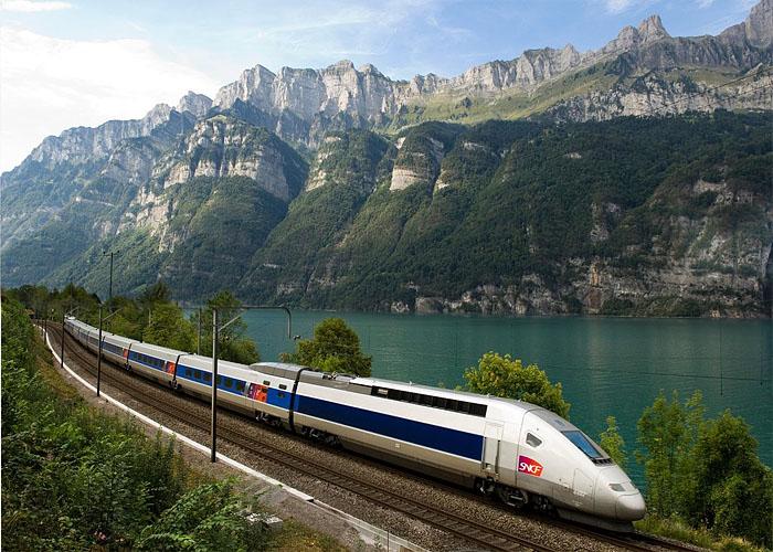 Железнодорожный транспорт Франции: подвижной состав TGV